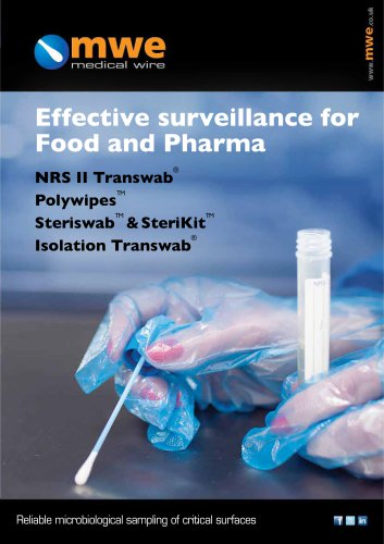 Effective surveillance for Food and Pharma