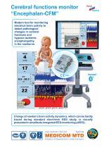 "Cerebral function monitor ""Encephalan-CFM"""