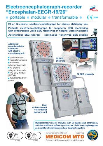 """Electroencephalograph-recorder """"Encephalan-EEGR-19/26"""""""