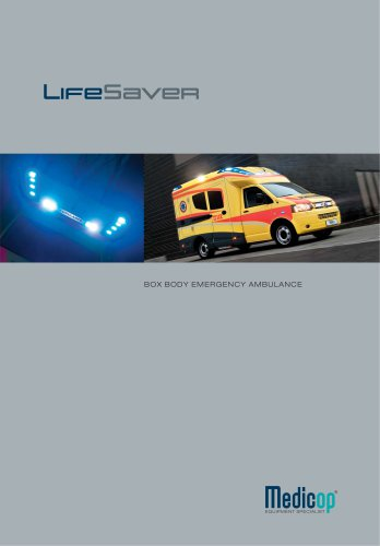 LifeSaver Box Body Emergency Ambulance