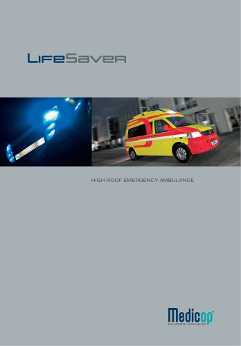 LifeSaver High Roof Emergency Ambulance