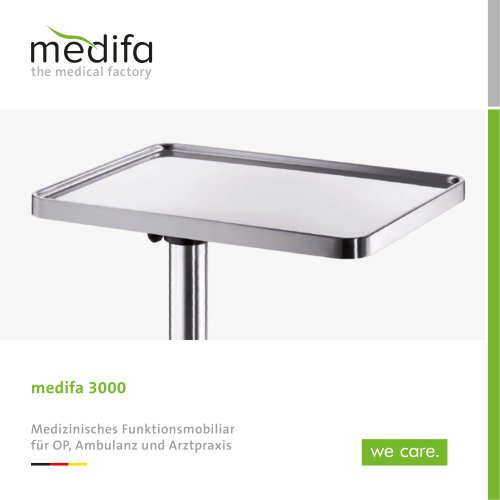 medifa 3000 - Medical functional furniture