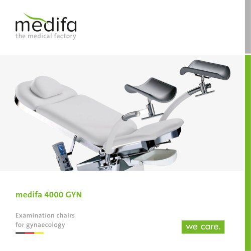 medifa 4000 GYN - Examination chairs for gynaecology