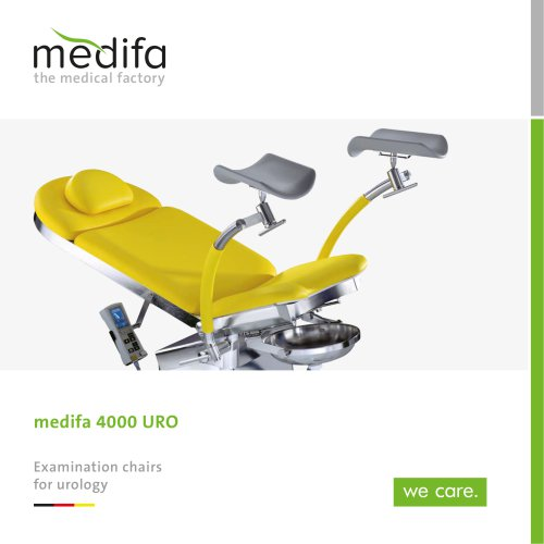 medifa 4000 URO - Examination chairs for urology