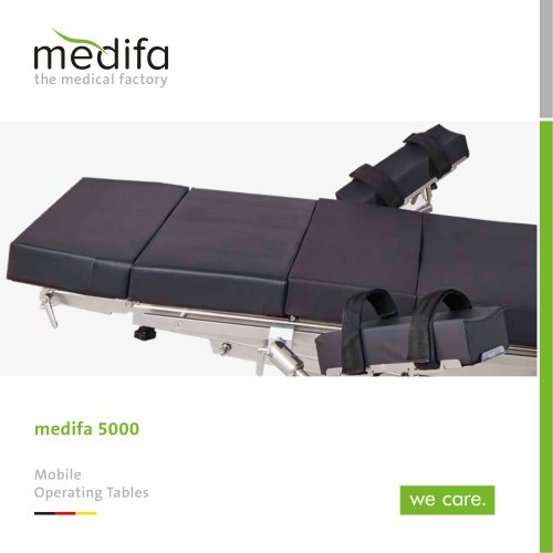 medifa 5000 – Mobile operating tables