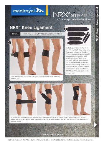 NRX® Knee Ligament