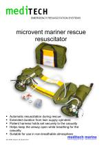 microvent mariner rescue resuscitator