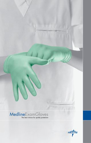 Medline Exam Gloves brochure