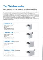The Cliniclave® series - 2