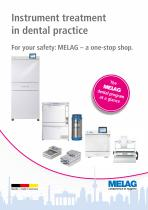Instrument treatment in dental practice - 1