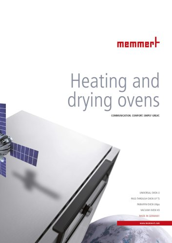 Brochure Heating and Drying ovens