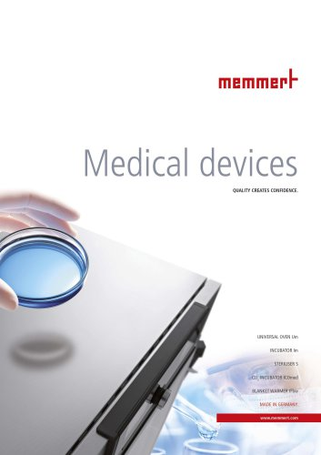 Brochure Medical Devices