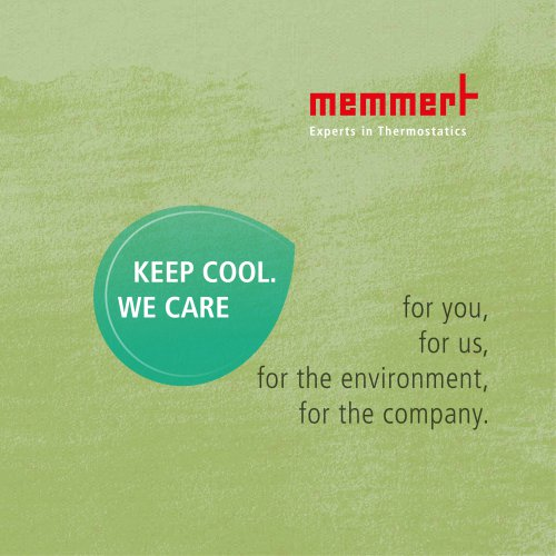 KEEP COOL. WE CARE.