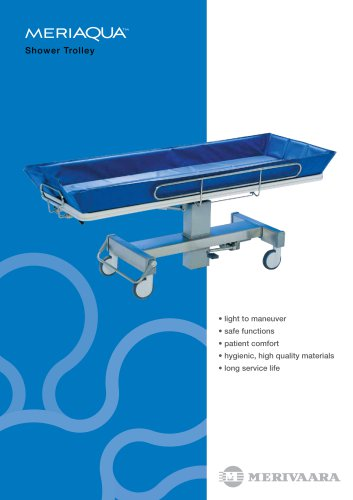 MeriAqua Shower Trolley