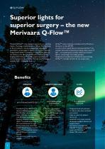 Surgical light Q-Flow - 2