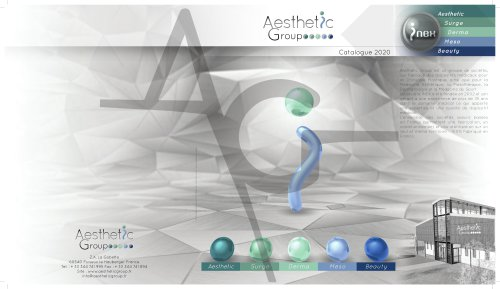 Aesthetic Group Catalogue 2020
