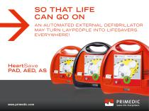 HeartSave AED PAD AS First Aid