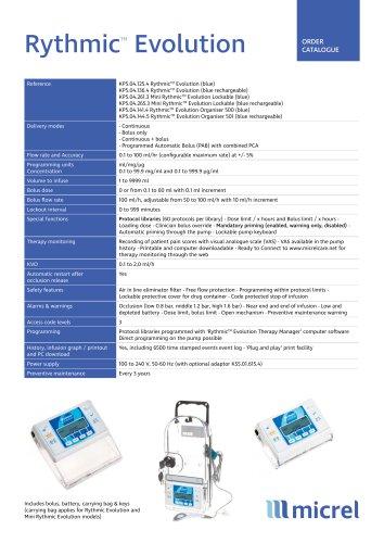 Rythmic Evolution Blue_Technical Sheet_ EN