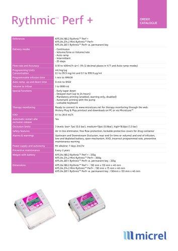 Rythmic Pref+ Technical Sheet_ EN