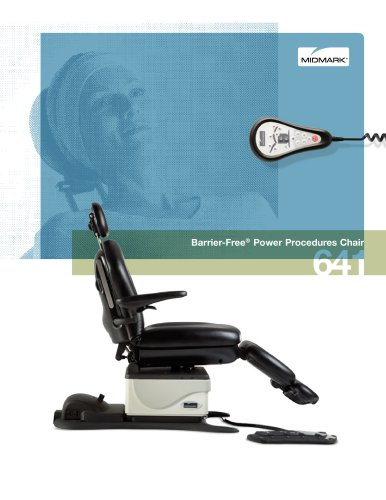 Midmark 641 Barrier-Free® Oral Surgery Chair