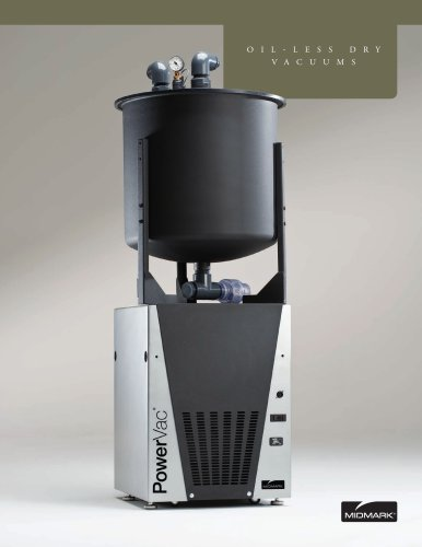 PowerVac® Dry-Vacuums