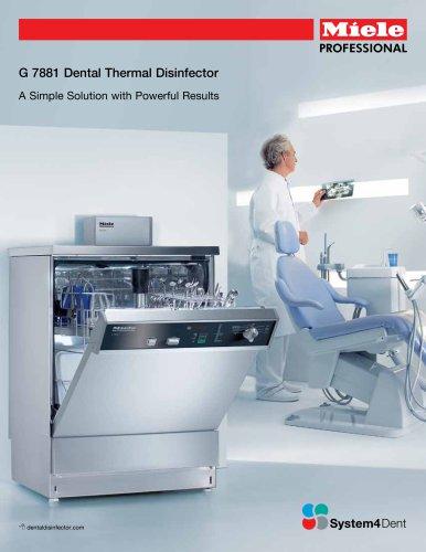 Dental Thermal Disinfector G 7881