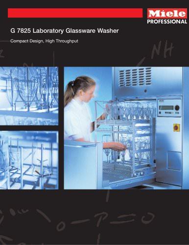 Glassware Washer G 7825, G 7826