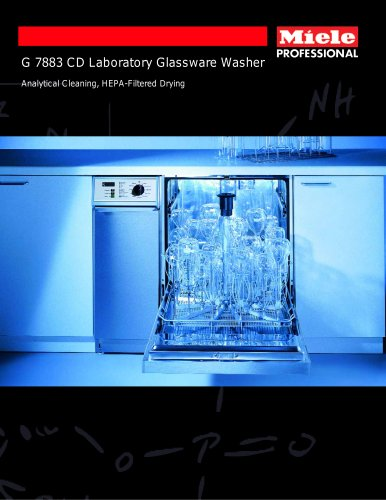 Glassware Washer Integrated Drying
