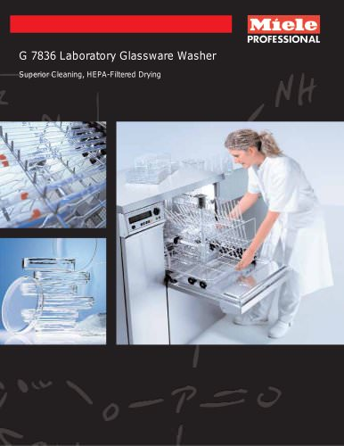 Glassware Washer Integrated Drying G 7836