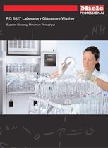 Glassware Washer PG 8527, PG 8528