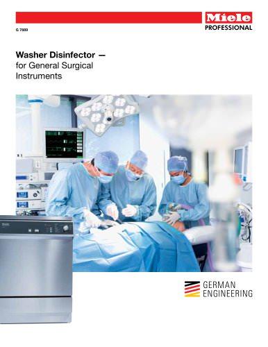 Medical  Washer - General Surgical Instruments