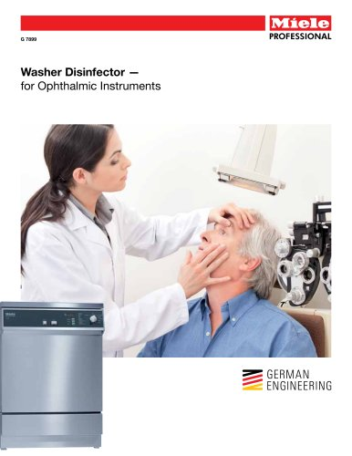 Medical  Washer - Ophthalmic Instruments