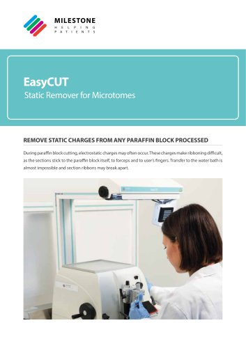 EasyCUT accessories for microtome catalog