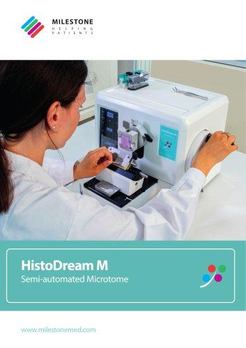 HistoDream M microtome catalog