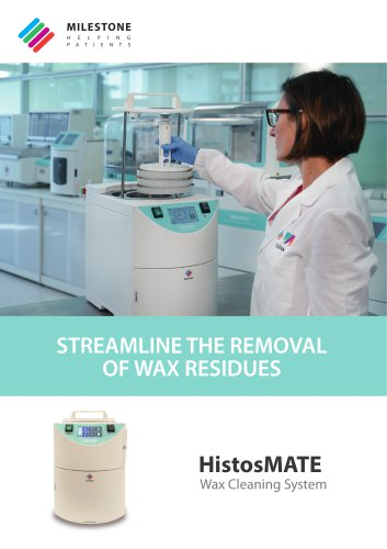 HistosMATE Wax Cleaning System