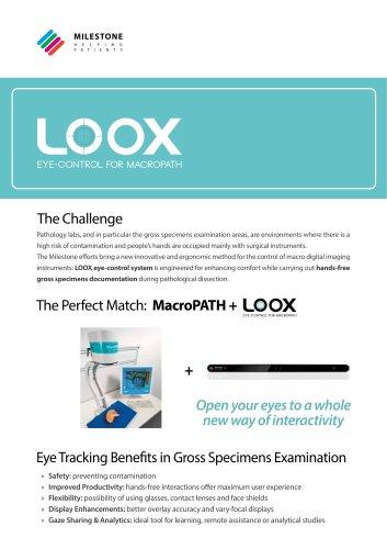 LOOX eye-tracking system catalog