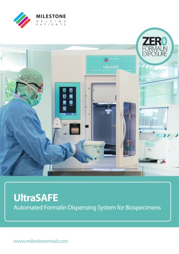 UltraSAFE catalog