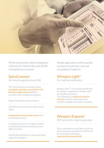 SpiroConnect Winspiro Light®