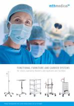 functional furniture and mounting systems by mth medical