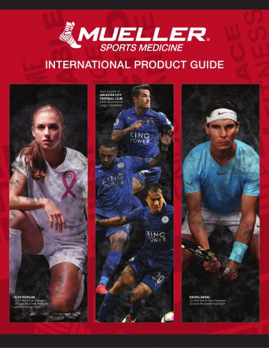 INTERNATIONAL PRODUCT GUIDE