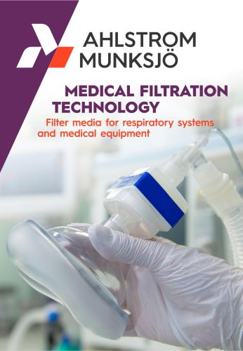 Filter media for artificial respiratory devices