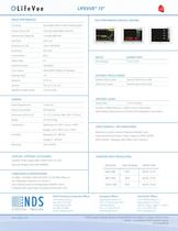 """LifeVue 15"""" Technical Spec Sheet"""