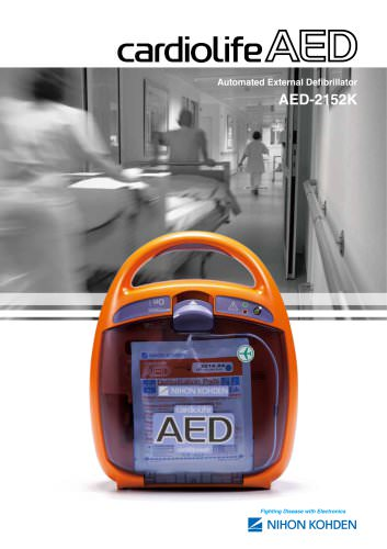 AED-2152K cardiolife AED Automated External Defibrillator