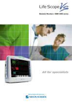 BSM-3000 series Life Scope VS Bedside Monitors