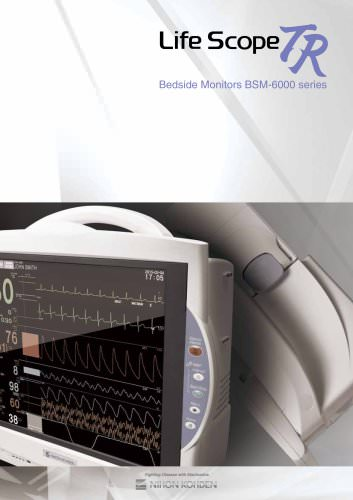 BSM-6000 series Life Scope R Bedside Monitors