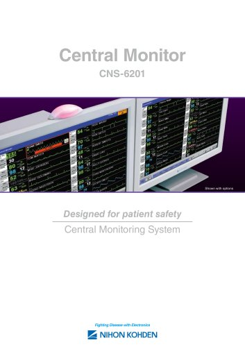 CNS-6201 Central Monitors