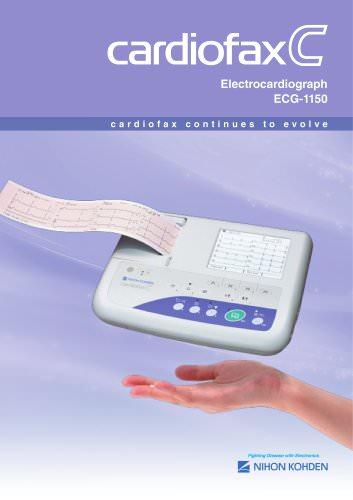ECG-1150K cardiofax C Electrocardiograph