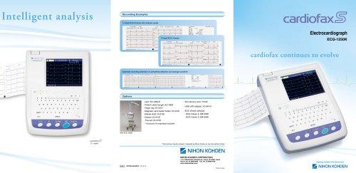 ECG-1250K cardiofax S Electrocardiograph
