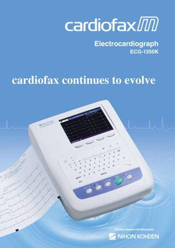 ECG-1350K cardiofax M Electrocardiograph