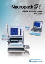 MEB-9400K Neuropack S1 EMG/EP measuring system